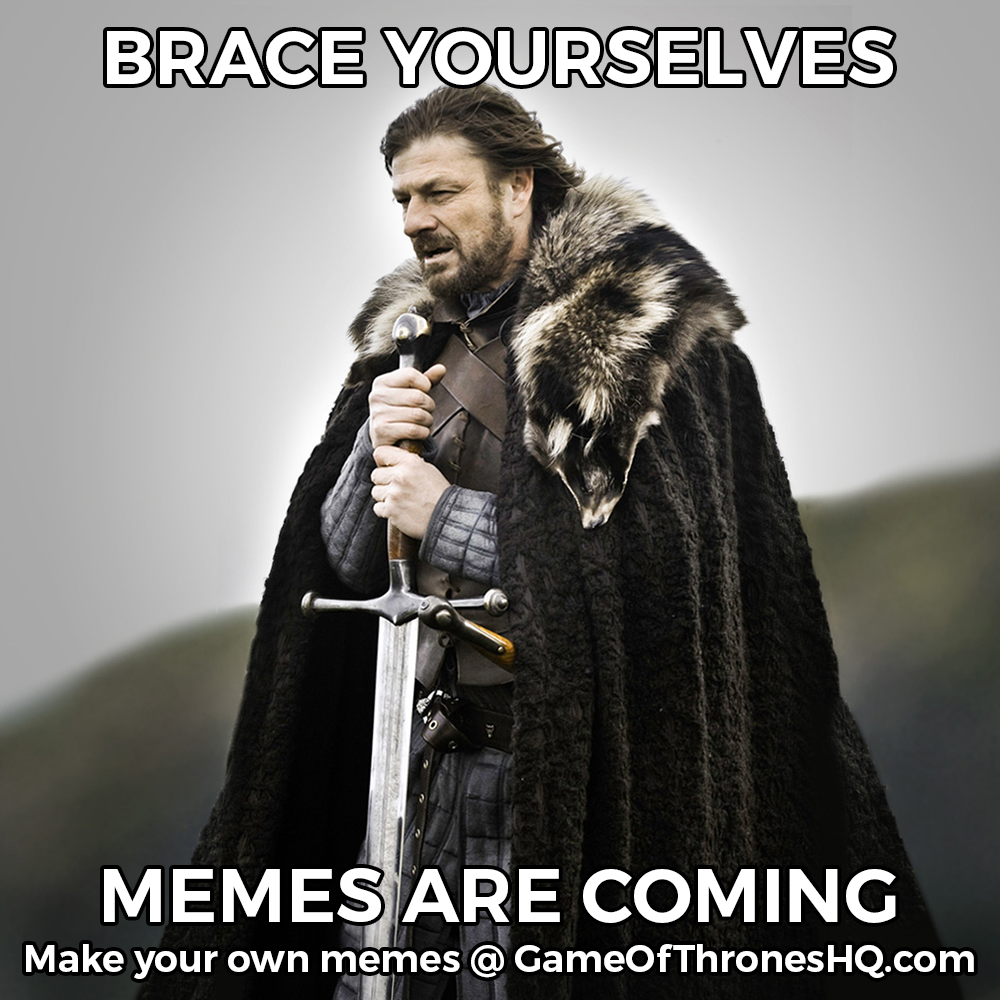 preview game of thrones memes make your own with our meme generator