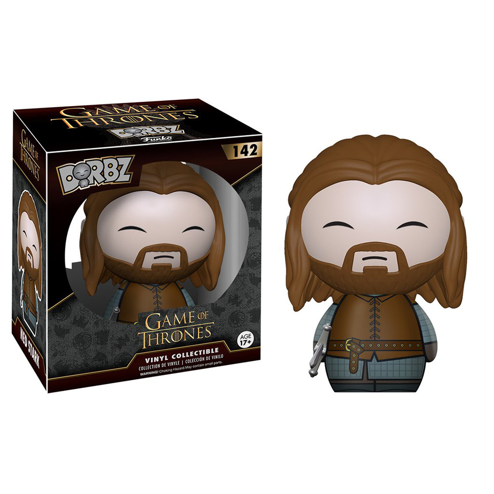 game of thrones dorbz, ned stark, vinyl collectible, funko