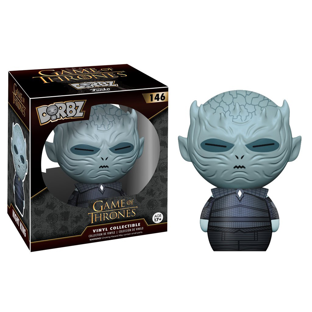 game of thrones dorbz, night king, vinyl collectible, funko