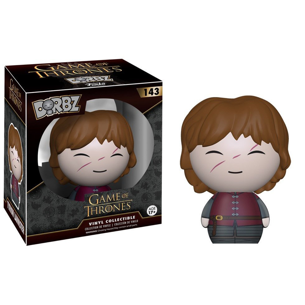 game of thrones dorbz, tyrion lannister, vinyl collectible, funko