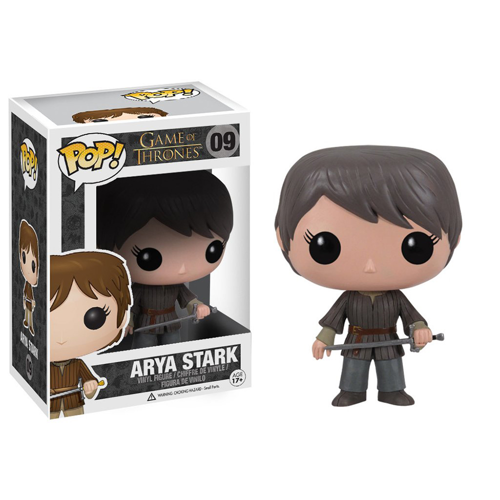 game of thrones funko pop vinyl, arya stark