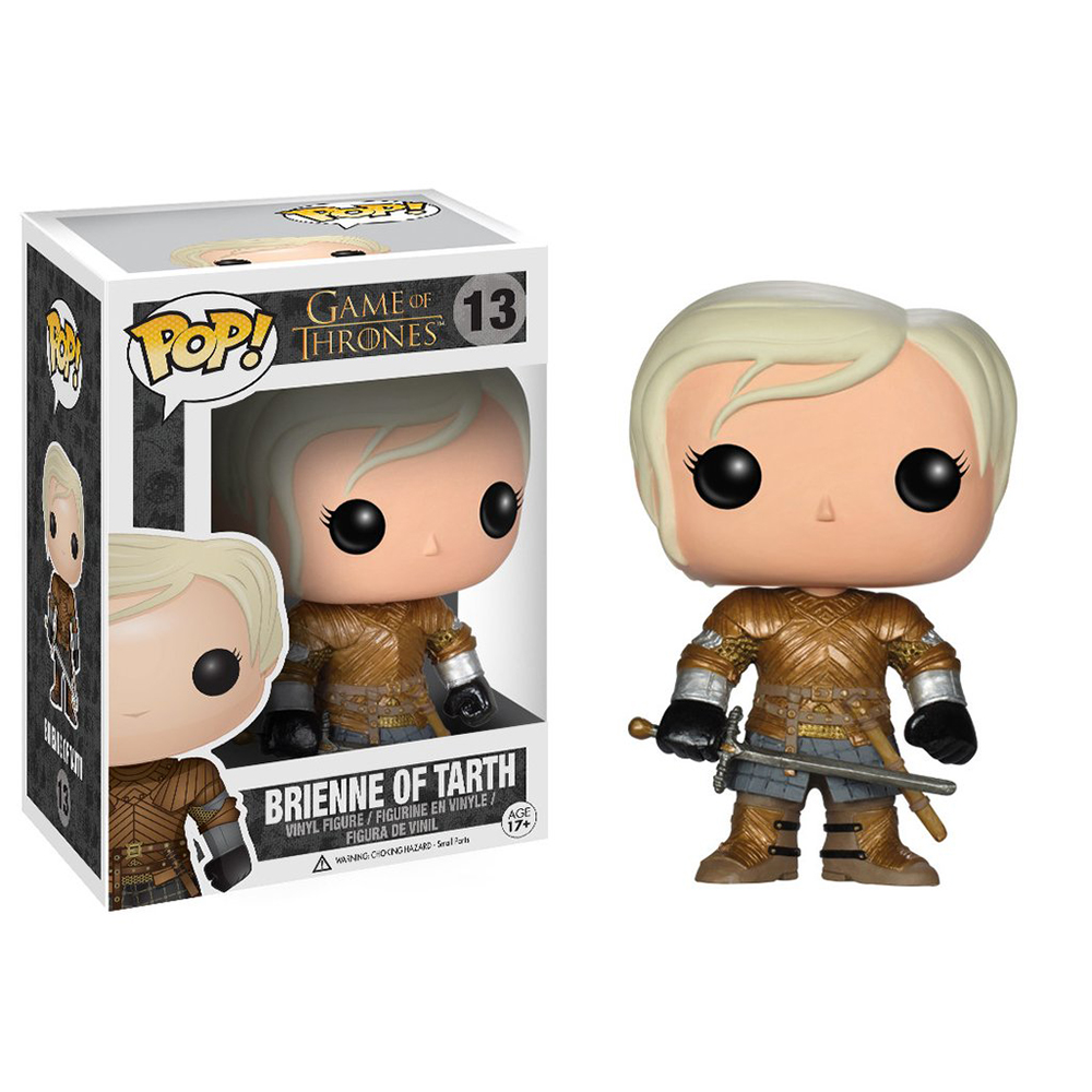 game of thrones funko pop vinyl, brienne of tarth