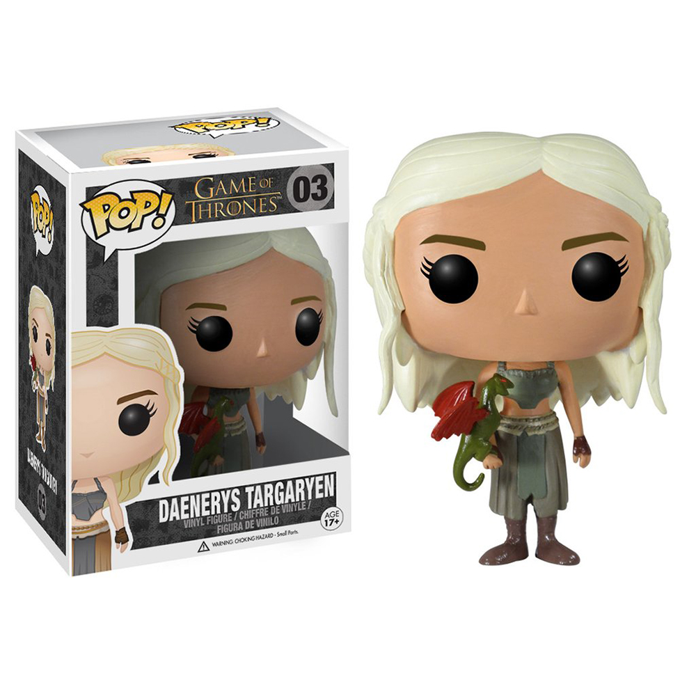 game of thrones funko pop vinyl, daenerys targaryen, dothraki dress, season 2