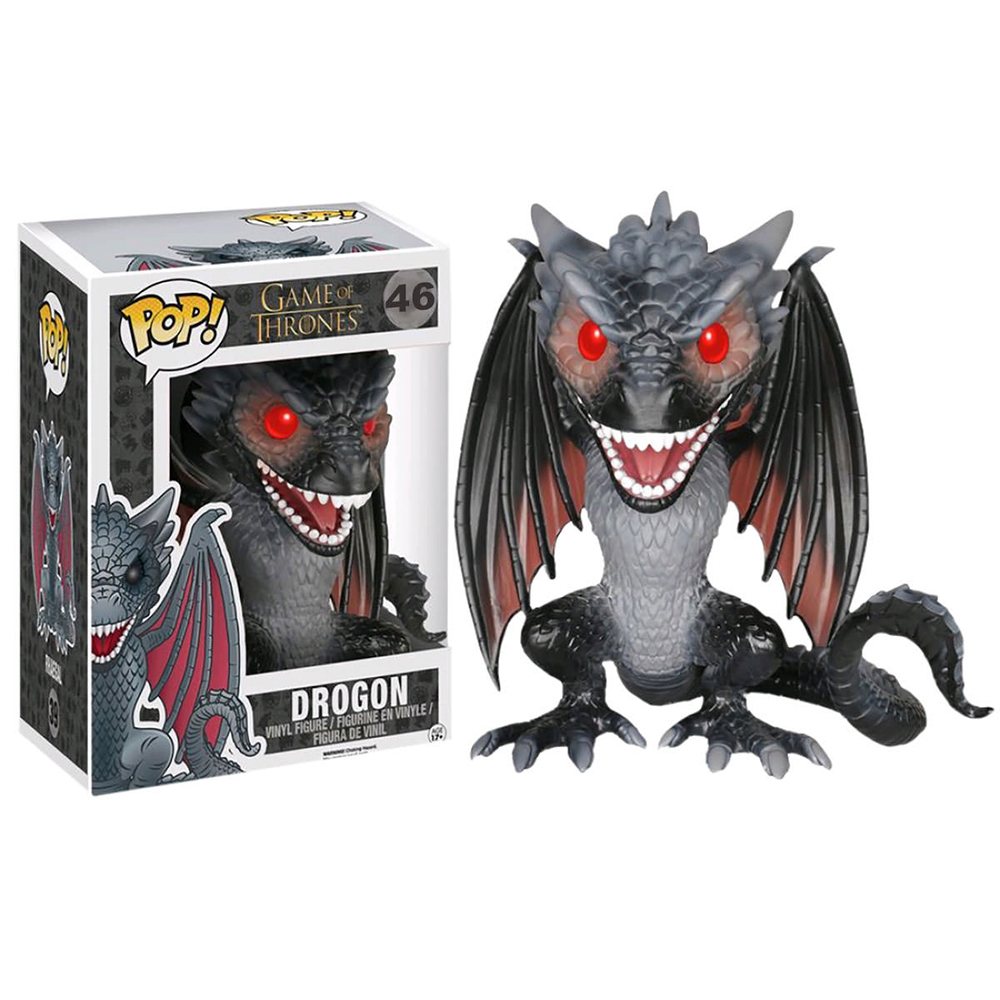 game of thrones funko pop vinyl, drogon 6
