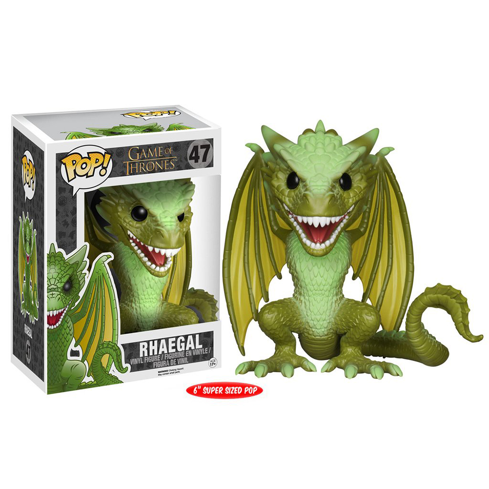 game of thrones funko pop vinyl, rhaegal 6
