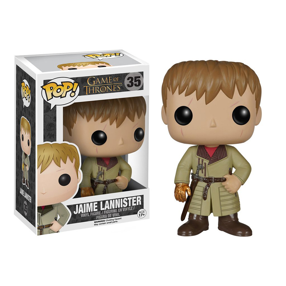 game of thrones funko pop vinyl, jaime lannister, gold hand