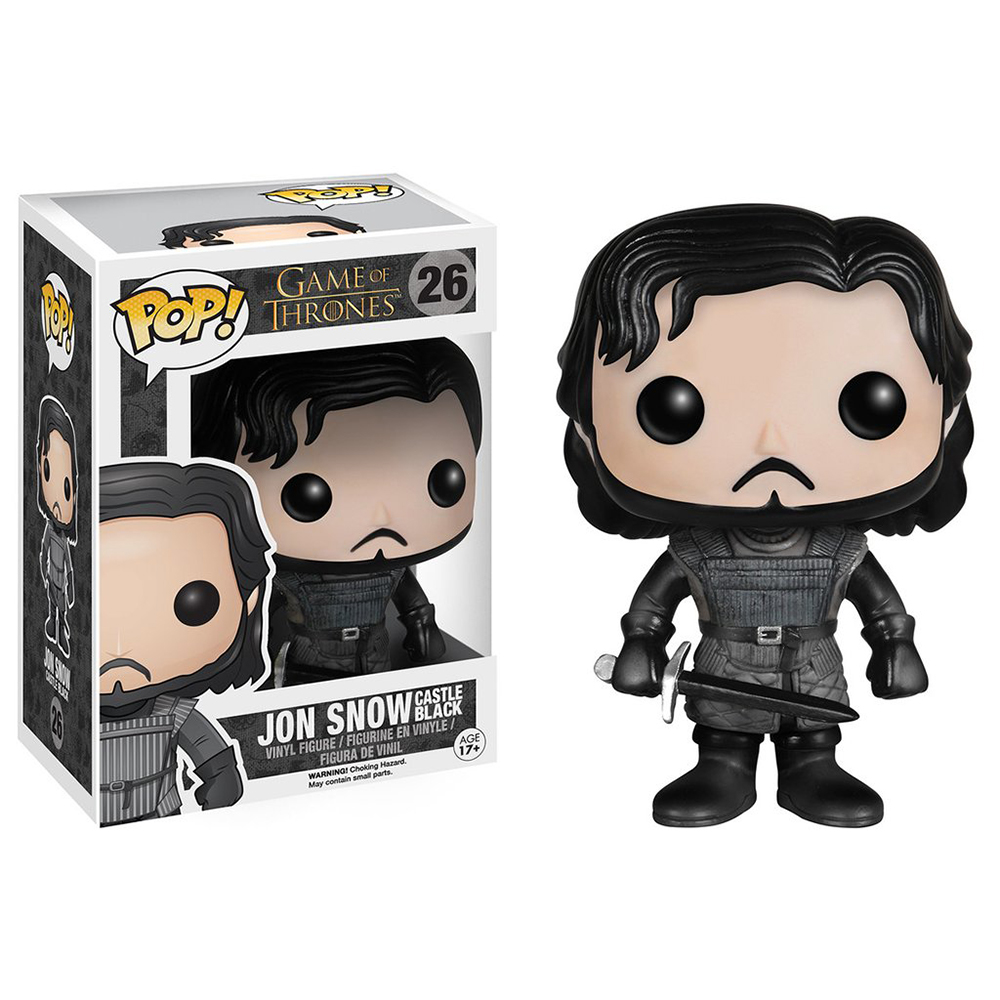 game of thrones funko pop vinyl, jon snow, training grounds