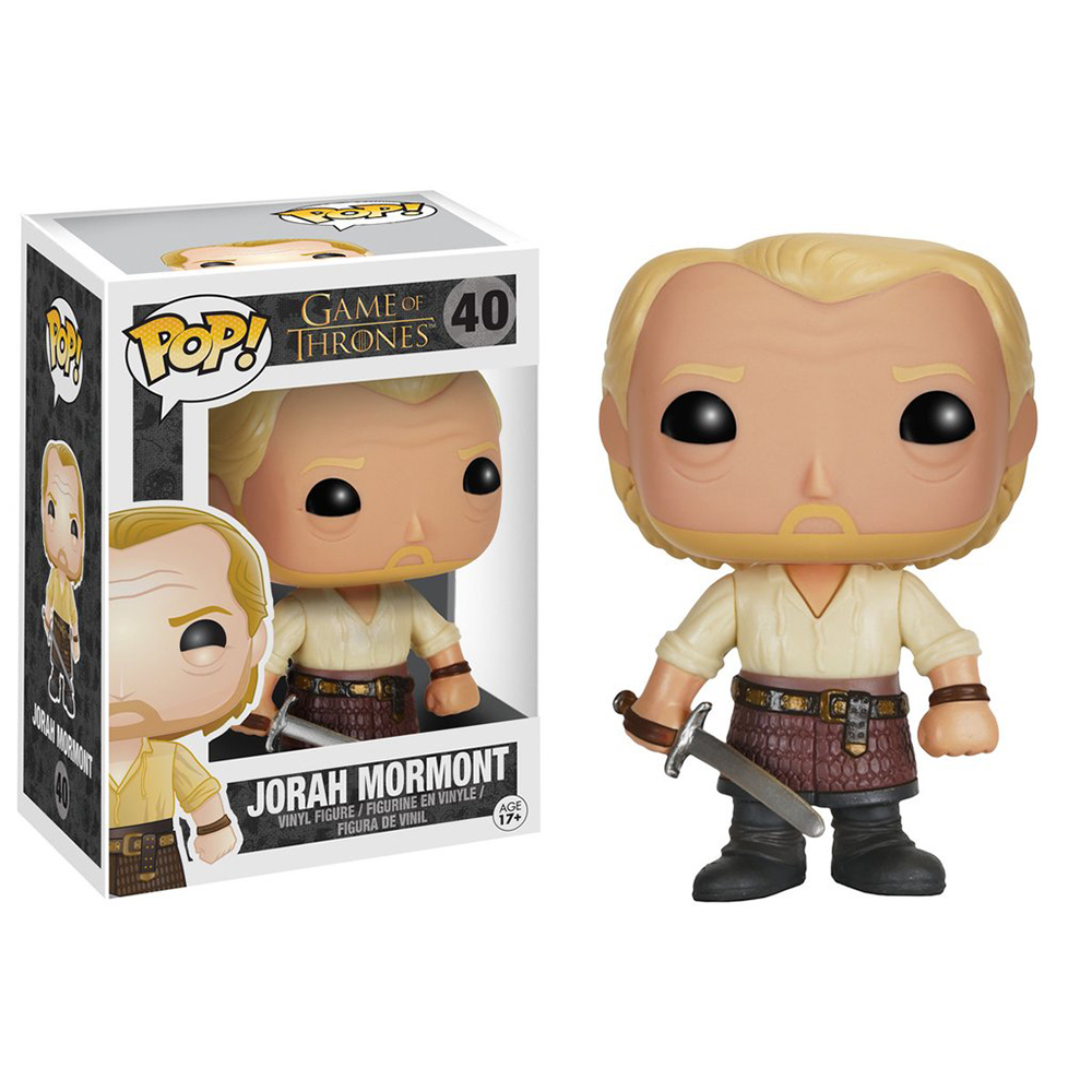 game of thrones funko pop vinyl, ser jorah mormont