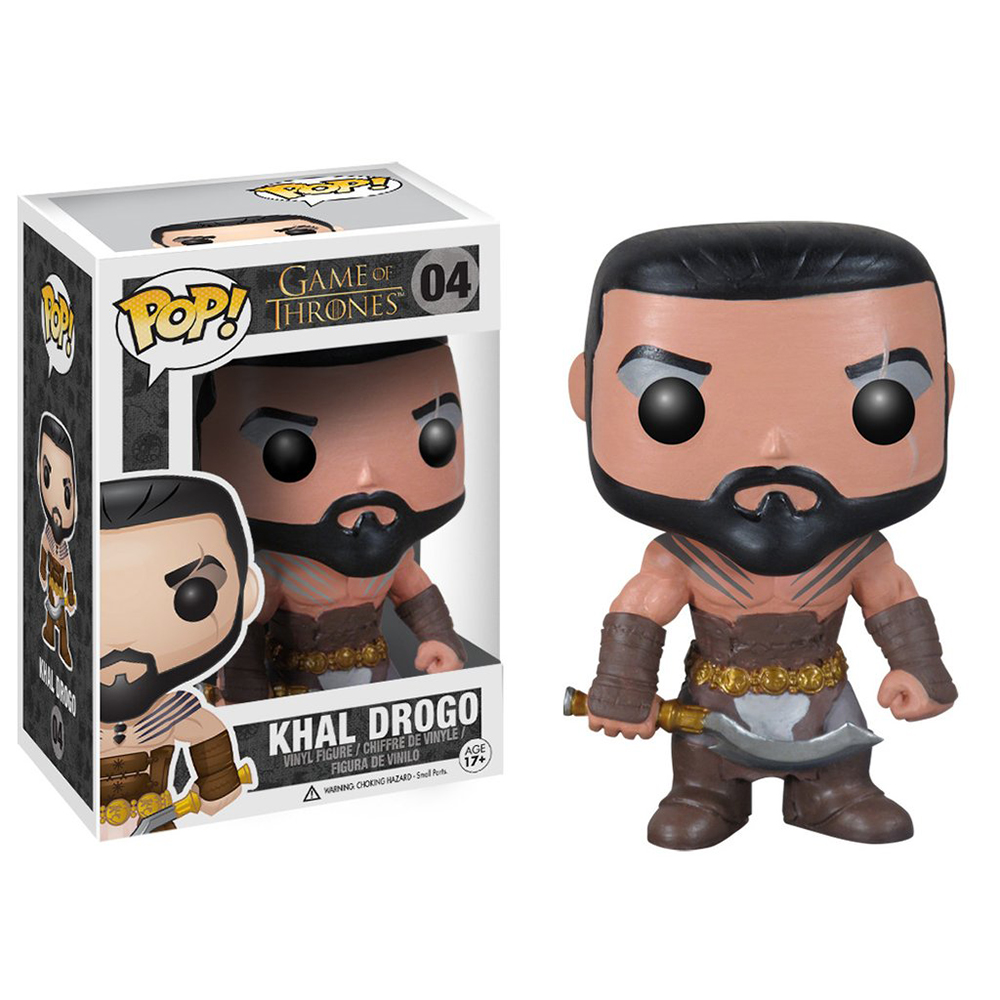 game of thrones funko pop vinyl, khal drogo