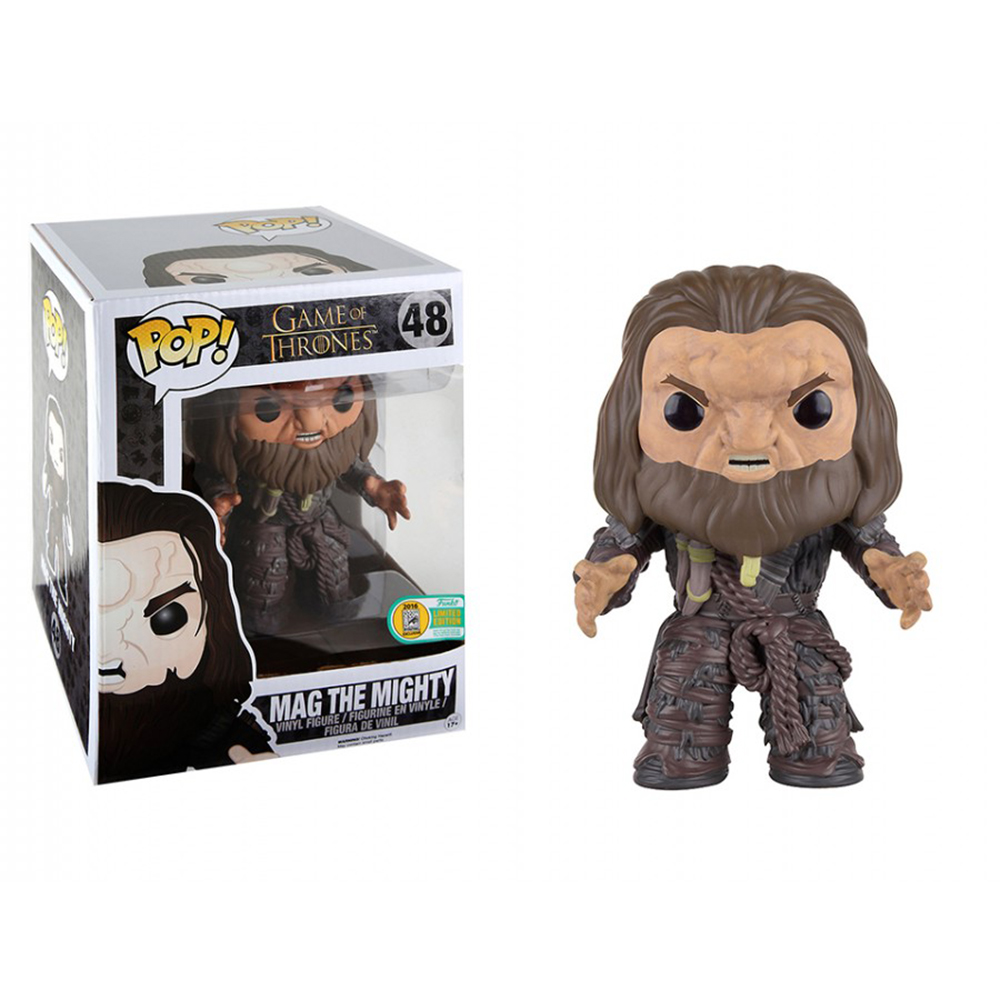 game of thrones funko pop vinyl, mag the mighty, wildling giant