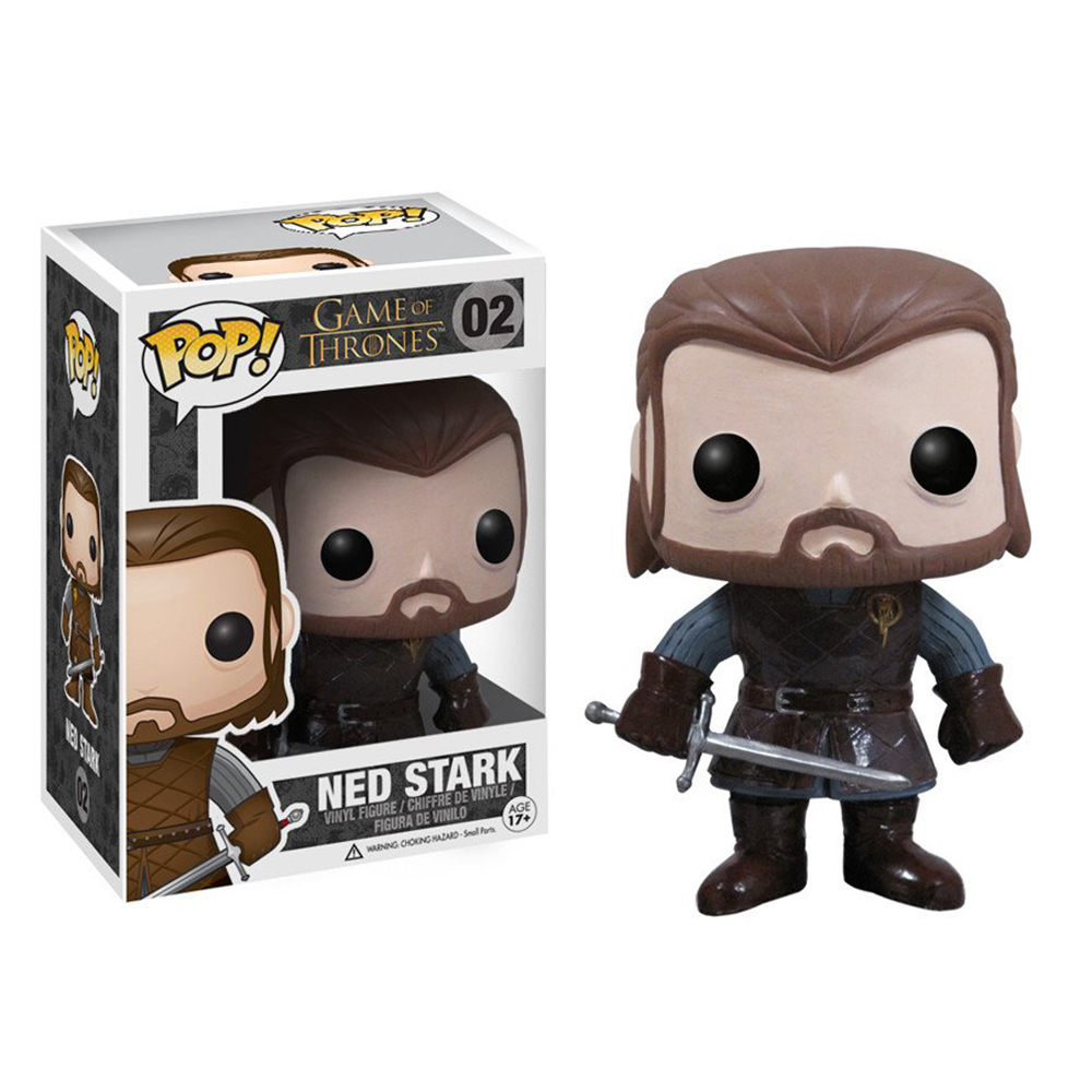 game of thrones funko pop vinyl, ned stark