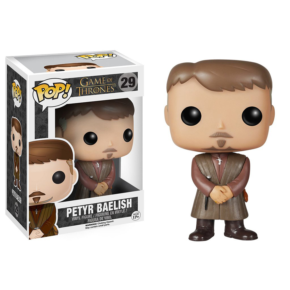 game of thrones funko pop vinyl, lord petyr baelish, littlefinger