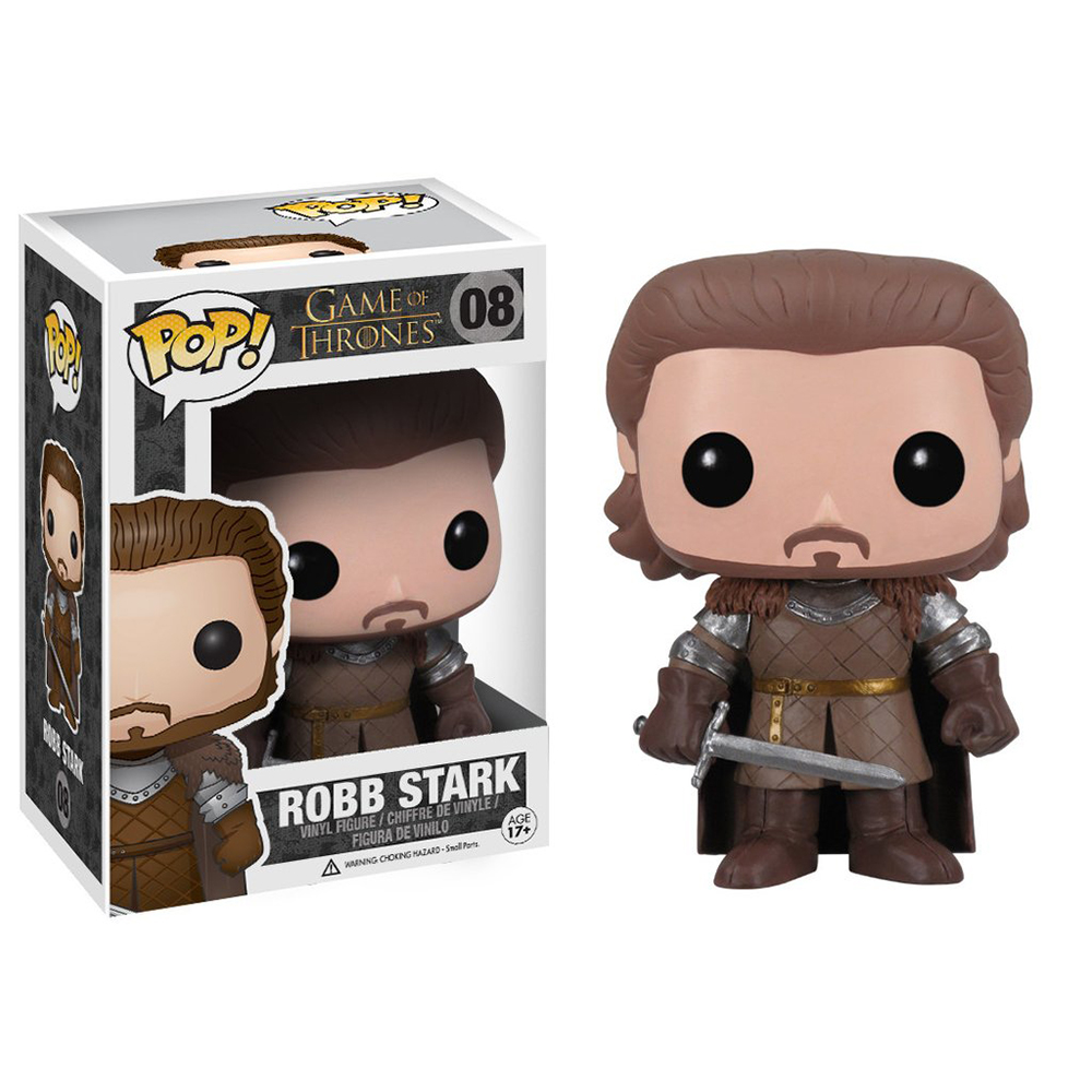 game of thrones funko pop vinyl, robb stark