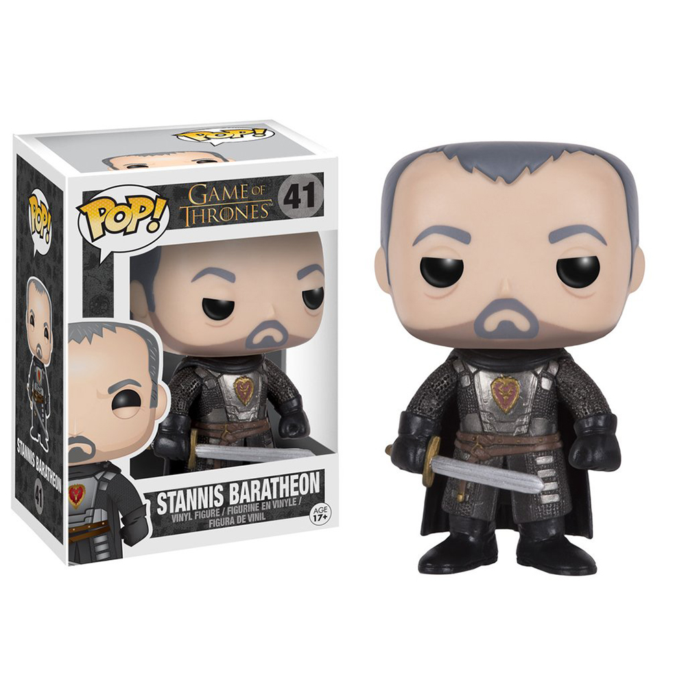 game of thrones funko pop vinyl, stannis baratheon