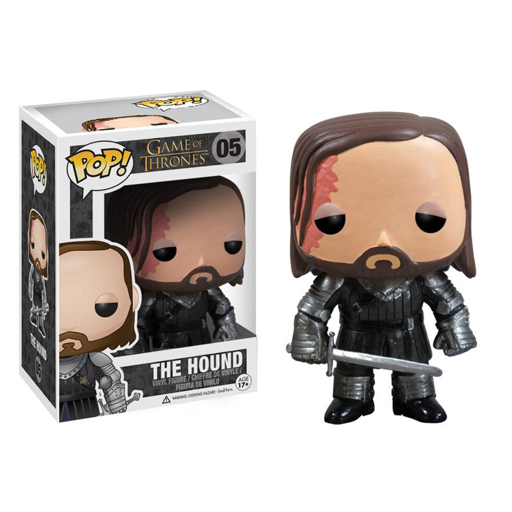 game of thrones funko pop vinyl, the hound, sandor clegane
