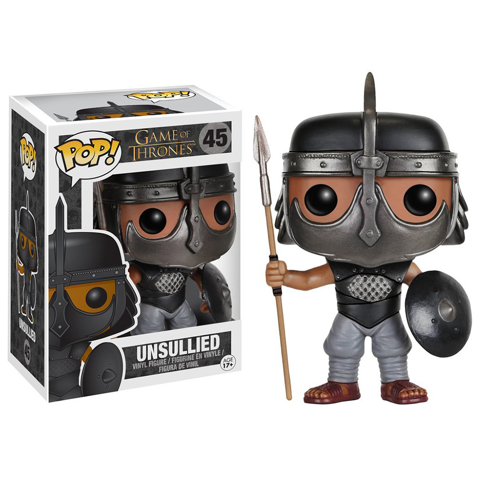 game of thrones funko pop vinyl, unsullied