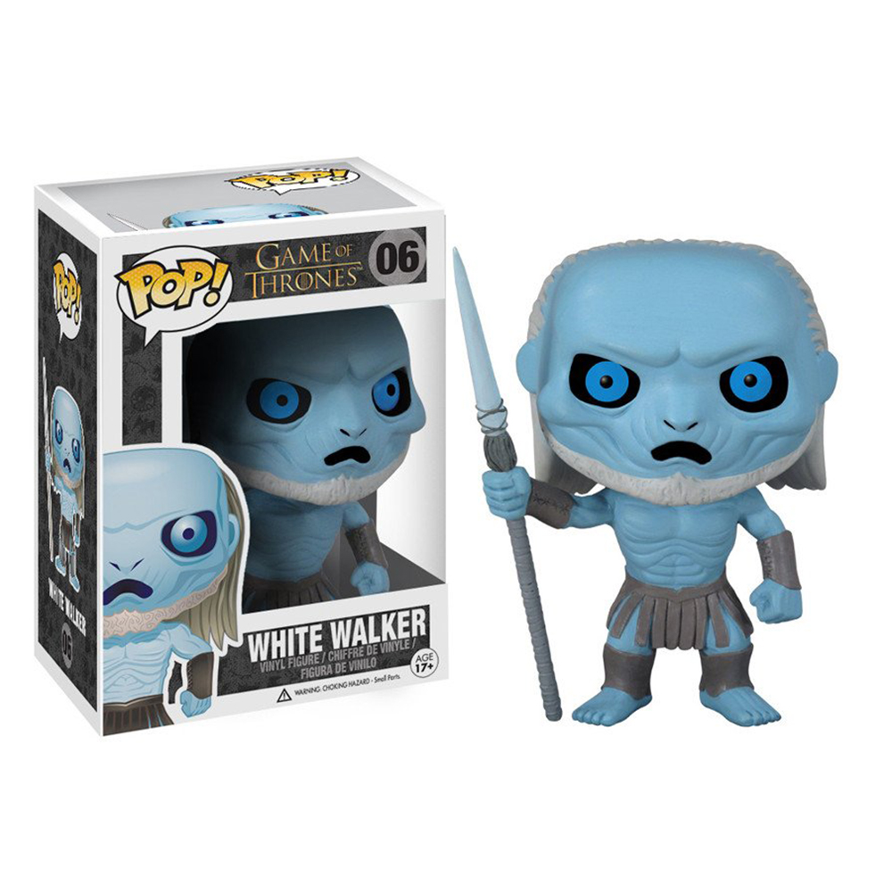 game of thrones funko pop vinyl, white walker