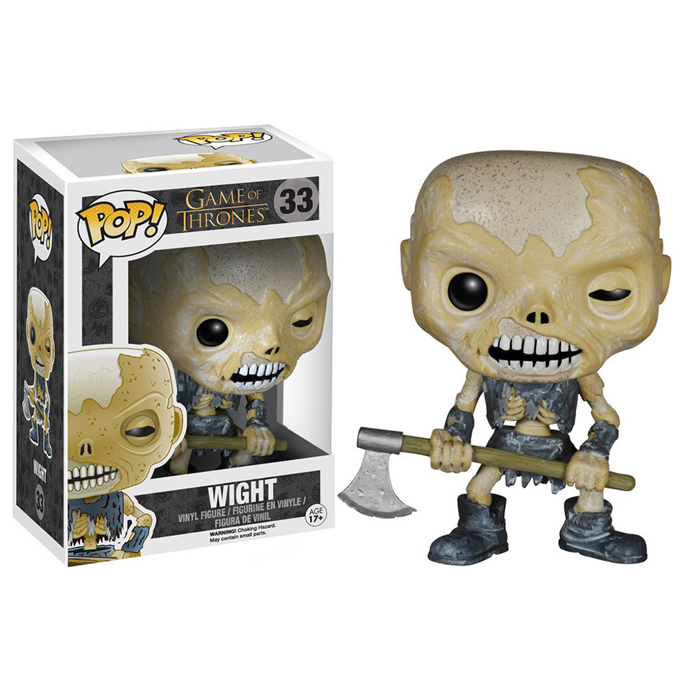 game of thrones funko pop vinyl, wight, hardhome