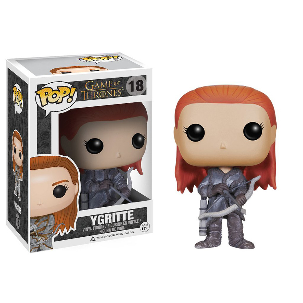 game of thrones funko pop vinyl, ygritte, wildling