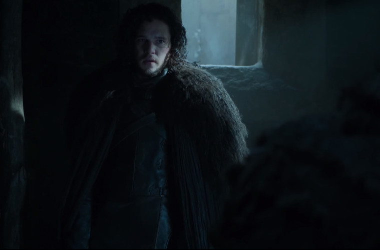 game of thrones clip, season 5, jon snow, mance rayder