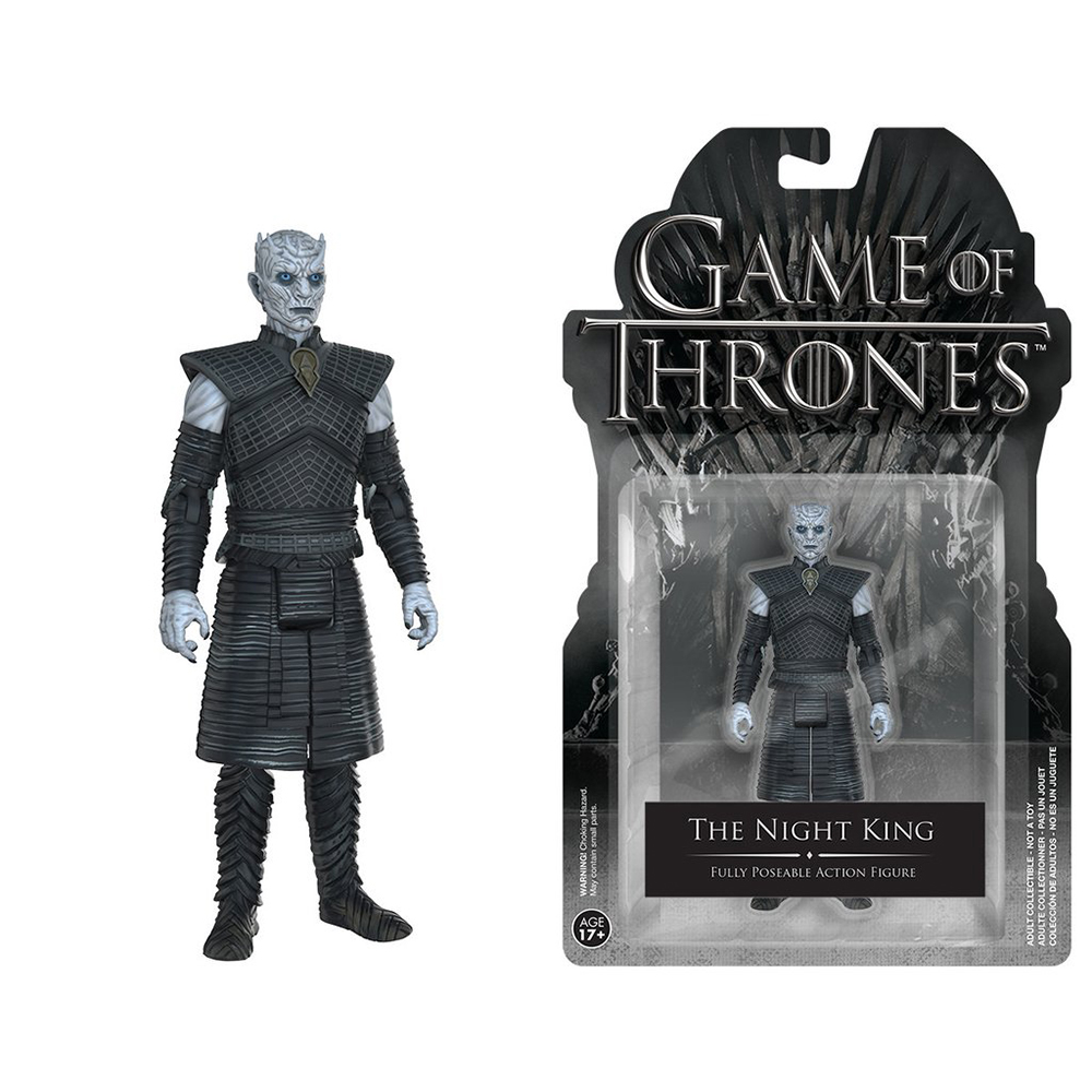 game of thrones action figures, the night king