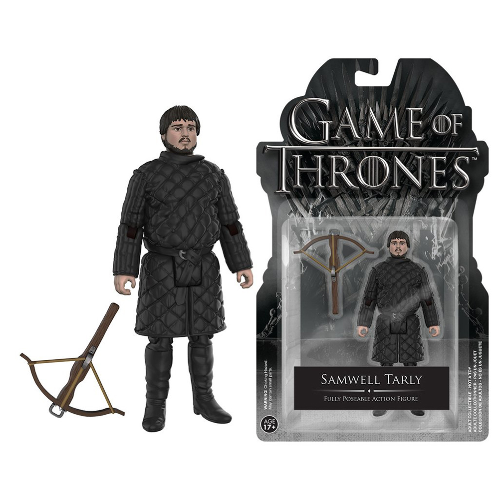 game of thrones action figures, samwell tarly