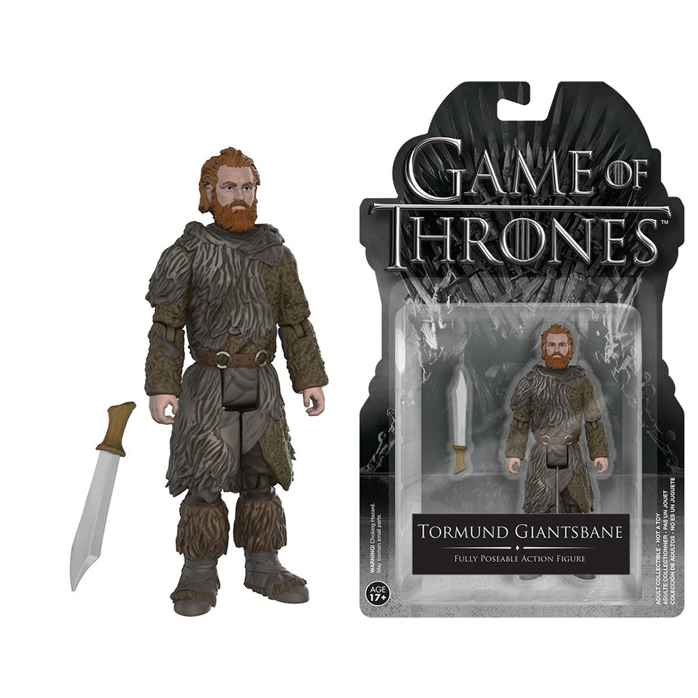game of thrones action figures, tormund gianstbane