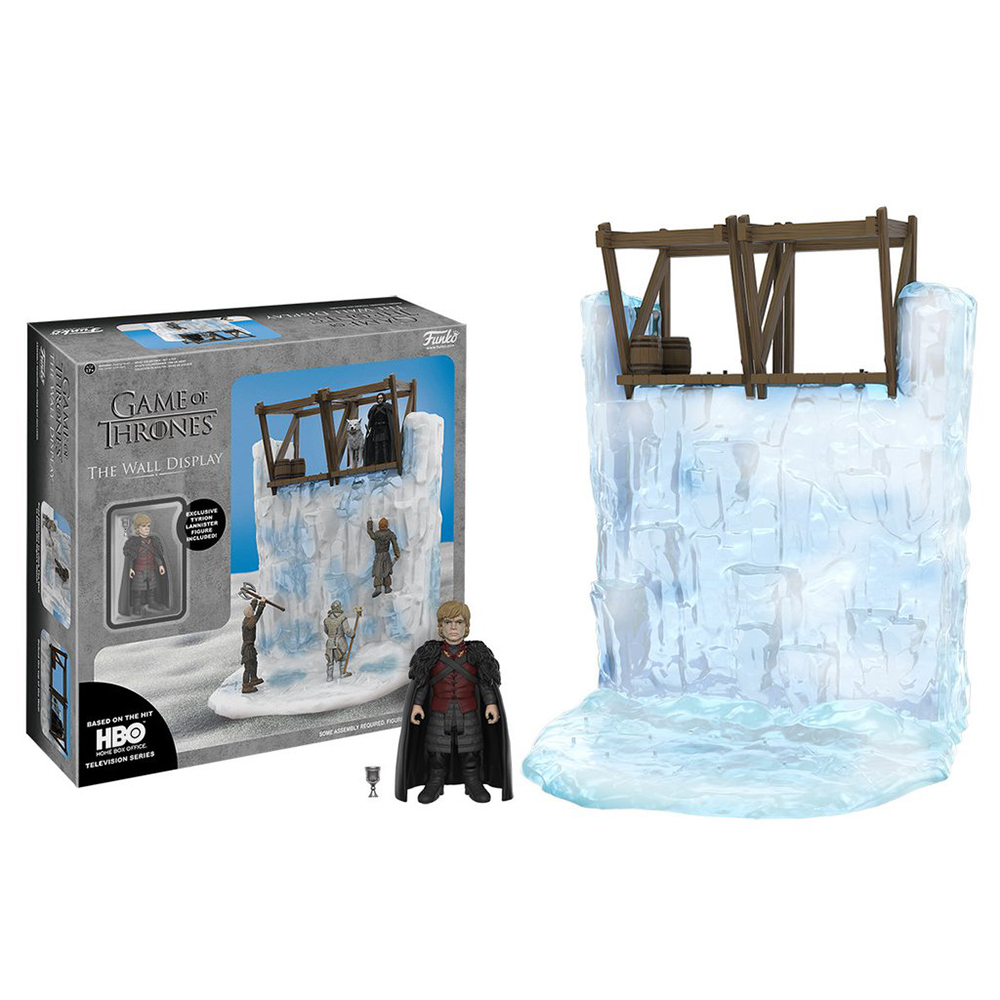 game of thrones action figures, wall playset with tyrion lanniser action figure