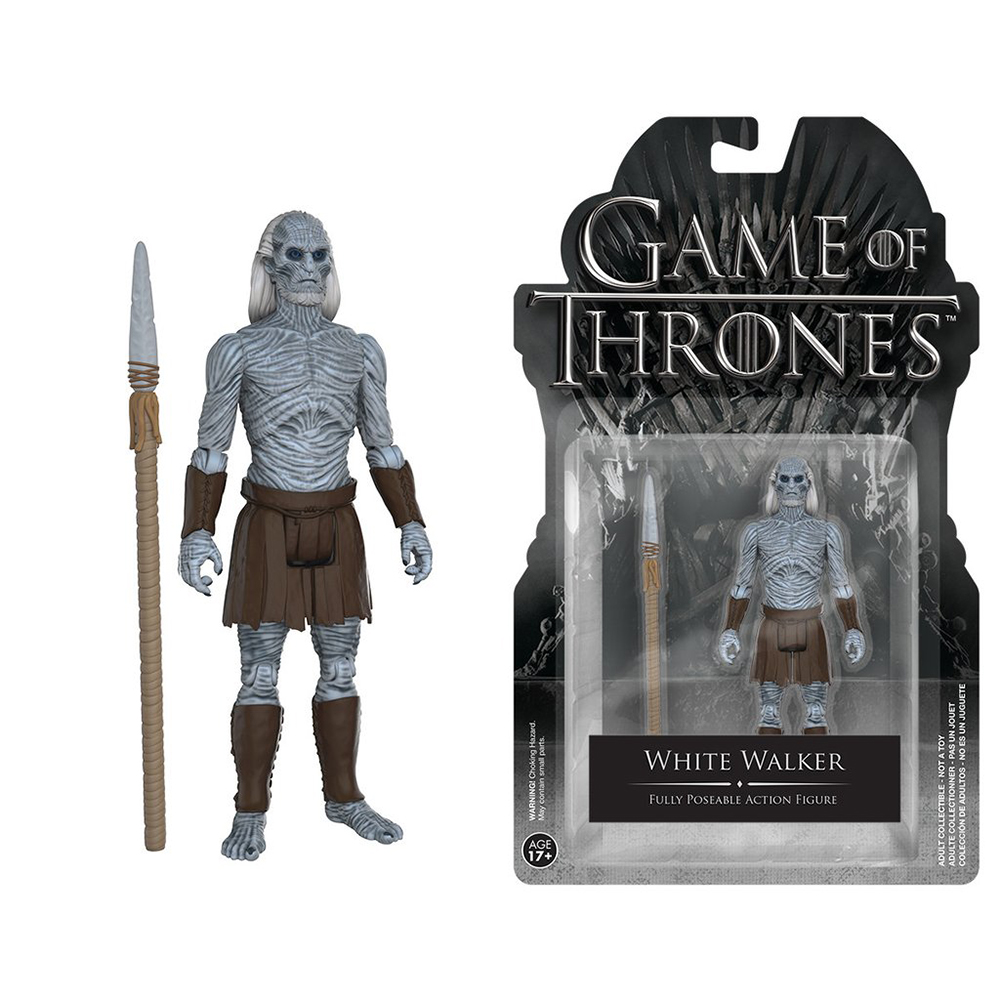 game of thrones action figures, white walker
