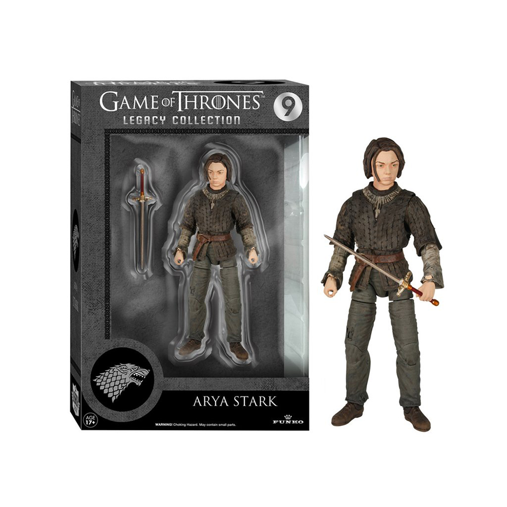 game of thrones legacy collection, arya stark, action figure