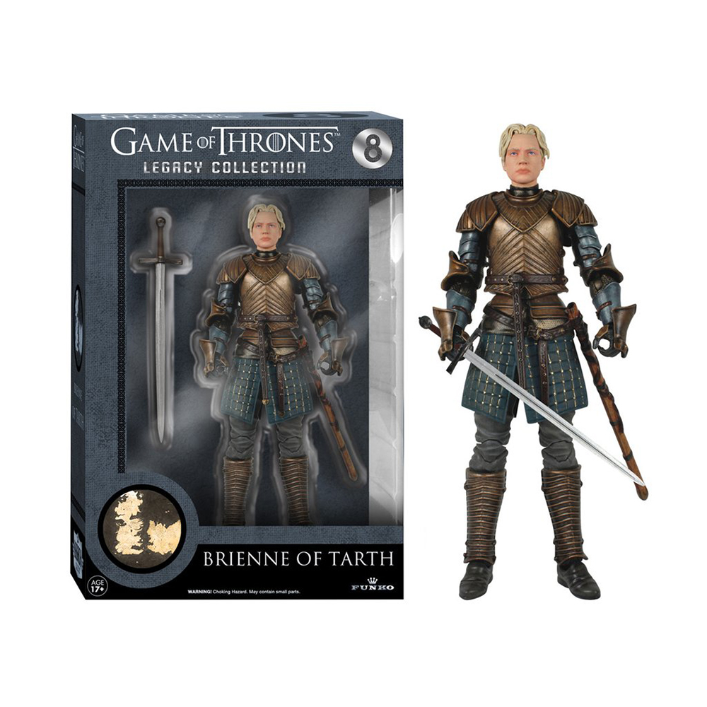 game of thrones legacy collection, brienne of tarth, action figure