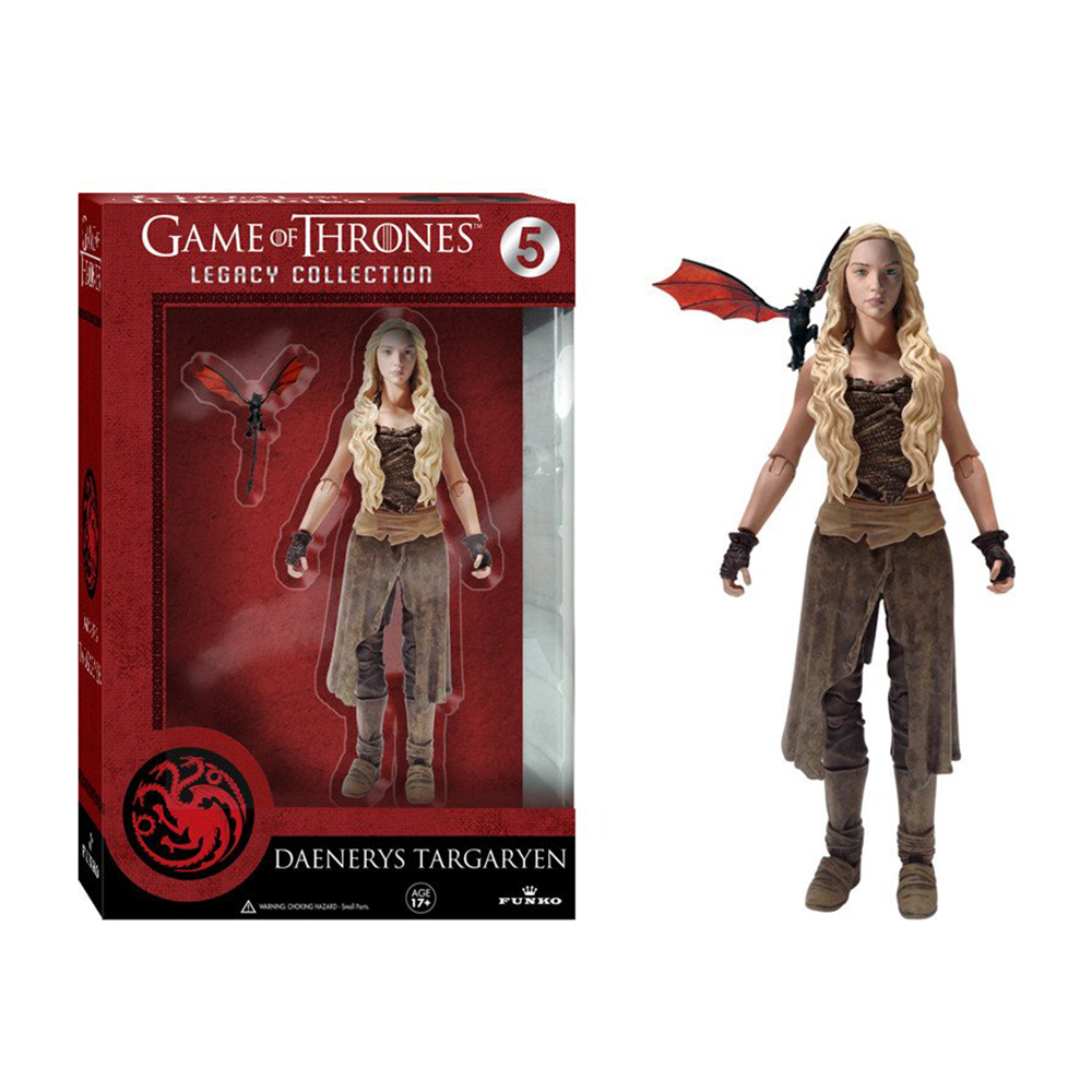 game of thrones legacy collection, daenerys targaryen, dothraki, action figure