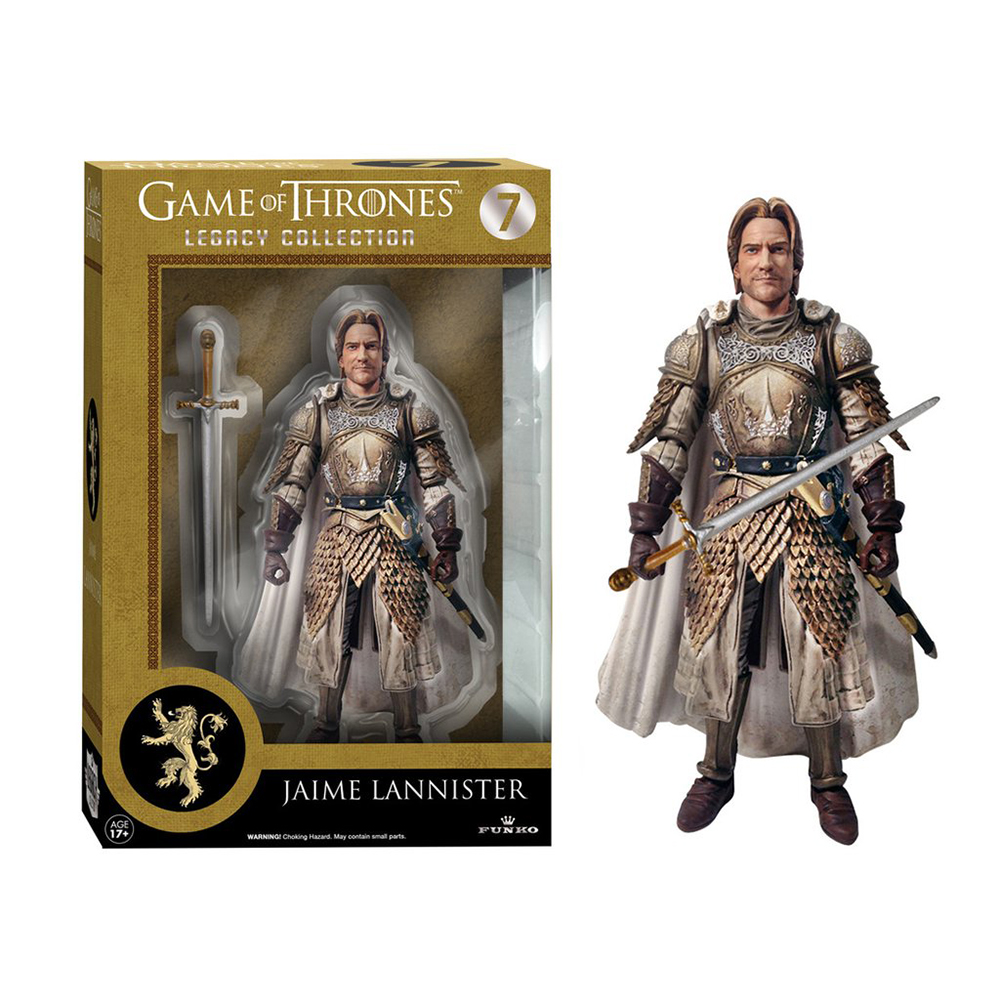 game of thrones legacy collection, jaime lannister, action figure