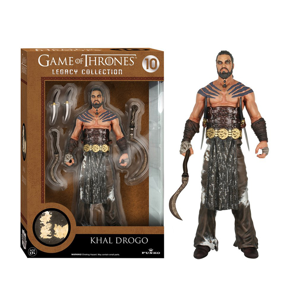 game of thrones legacy collection, khal drogo, action figure