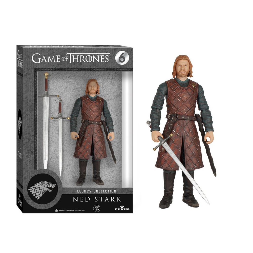game of thrones legacy collection, ned stark, action figure