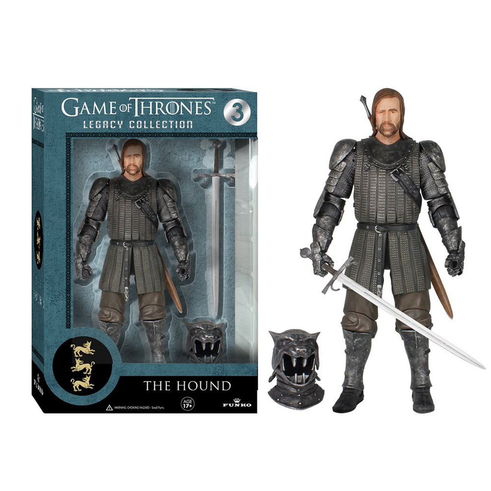 game of thrones legacy collection, the hound, action figure