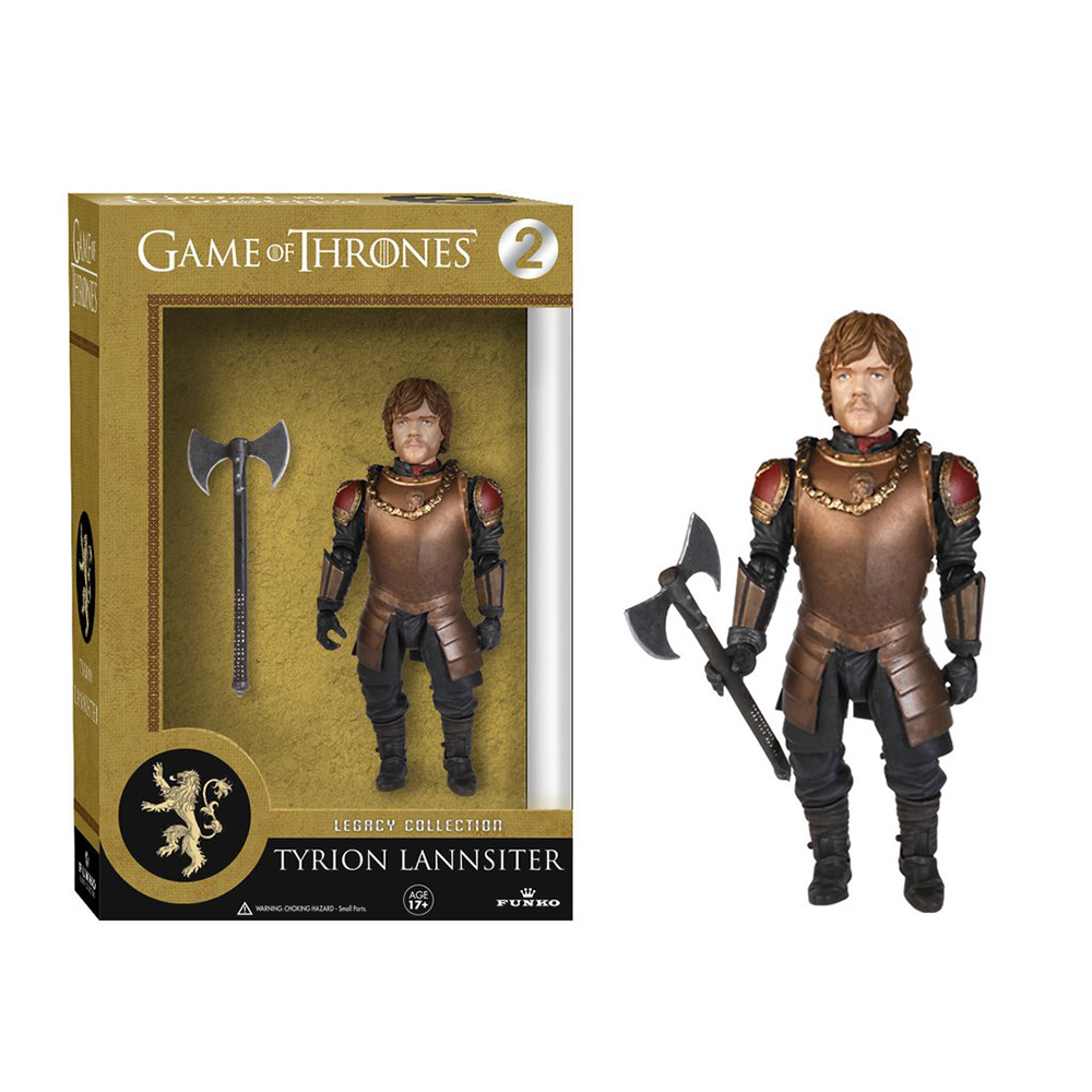 game of thrones legacy collection, tyrion lannister, action figure