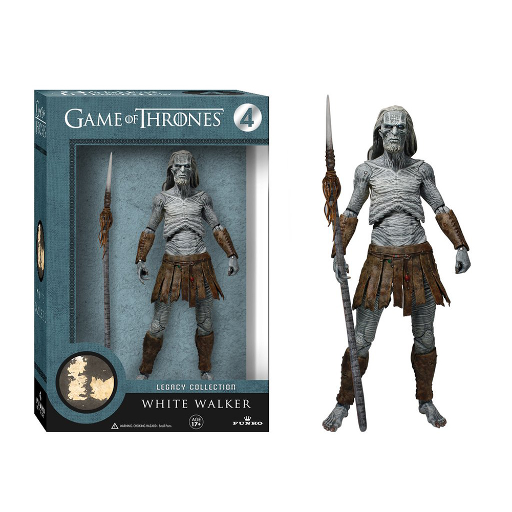 game of thrones legacy collection, white walker, action figure