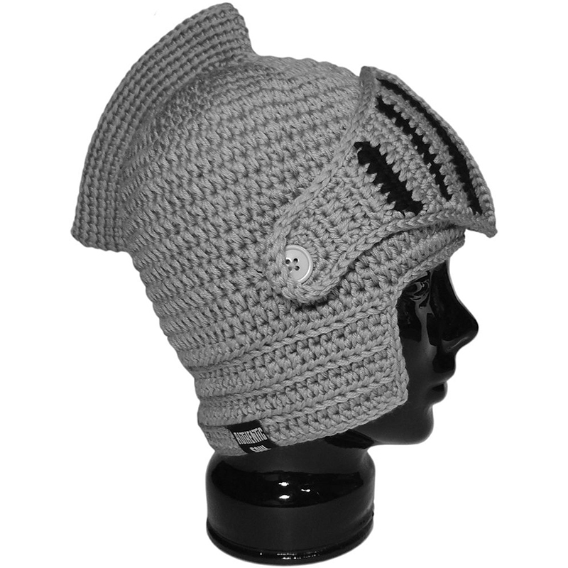 game of thrones winter apparel, crochet nights helmet beanie, toque.