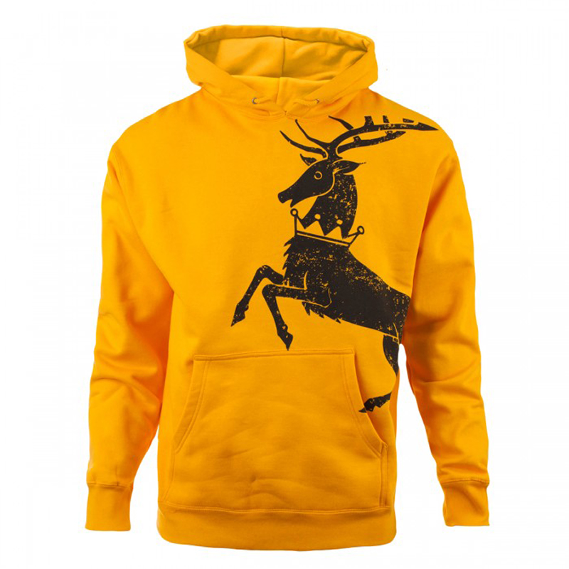 house baratheon distressed hoodie
