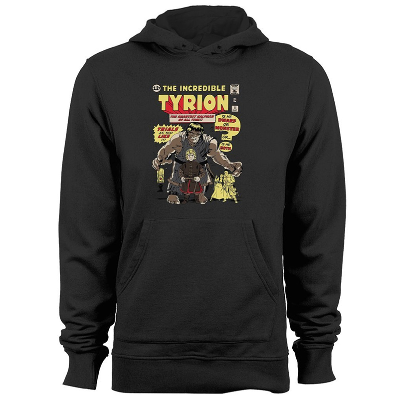 incredible tyrion hoodie.