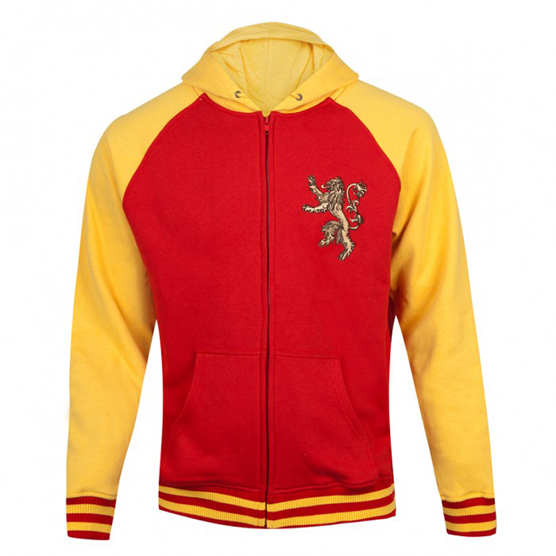game of thrones varsity hoodie, house lannister