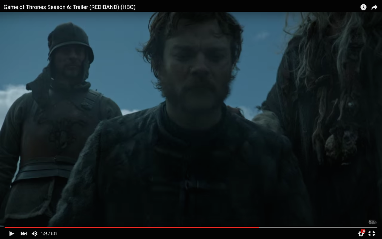 game of thrones season 6 trailer, euron greyjoy
