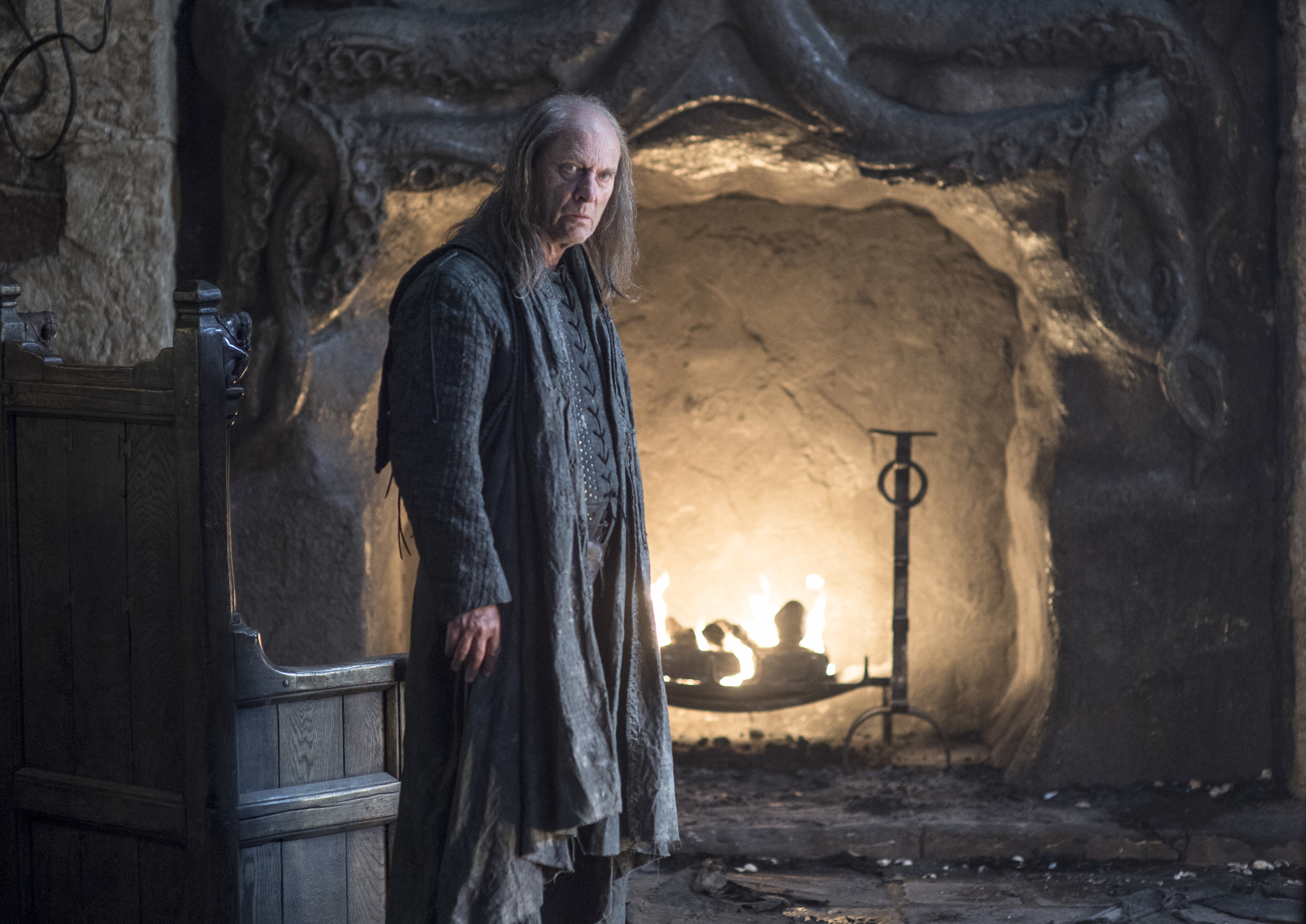 game of thrones season 6 photos, balon greyjoy, patrick malahide