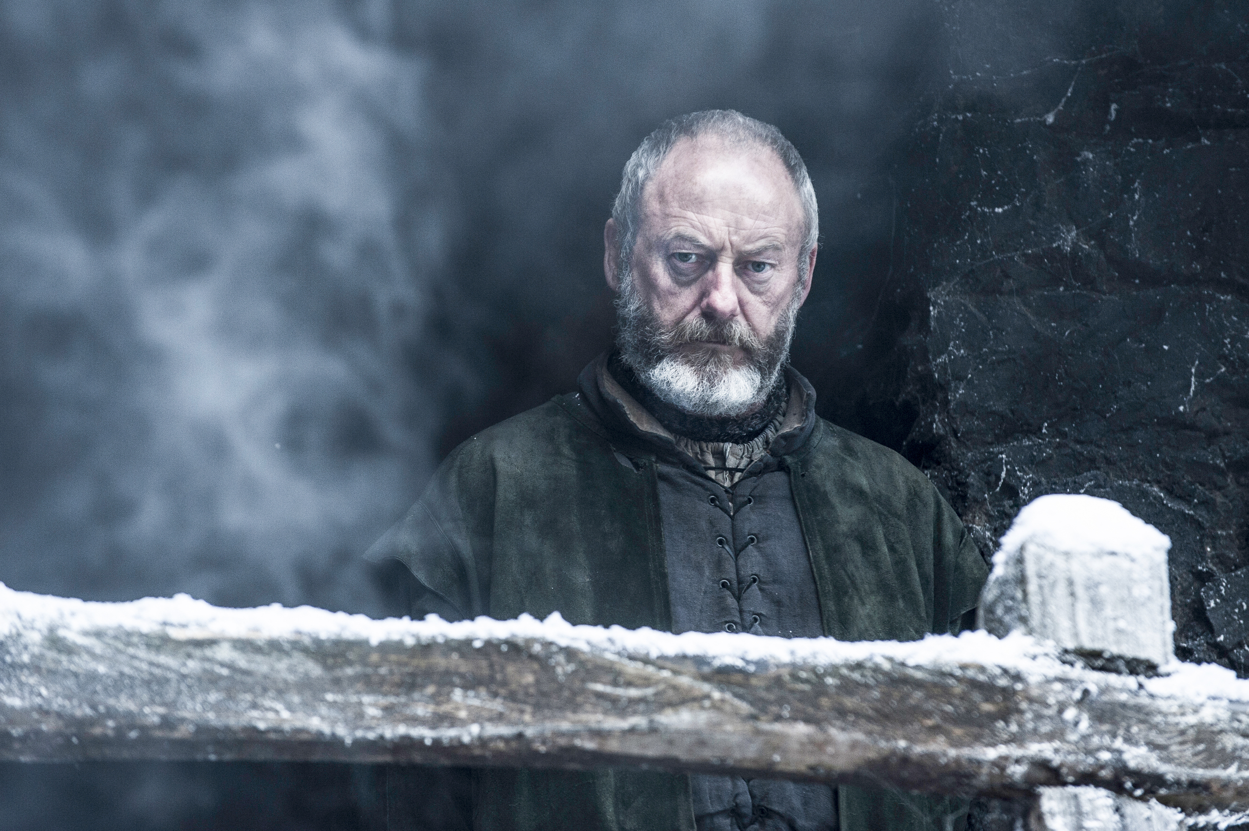 game of thrones season 6 photos, davos seaworth, liam cunningham
