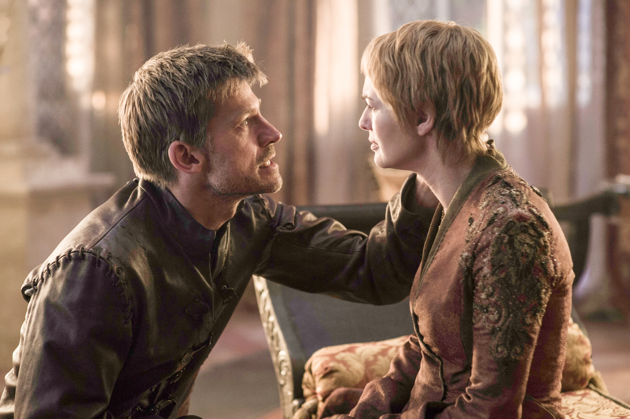 game of thrones season 6 photos, jaime lannister, cersei lannister
