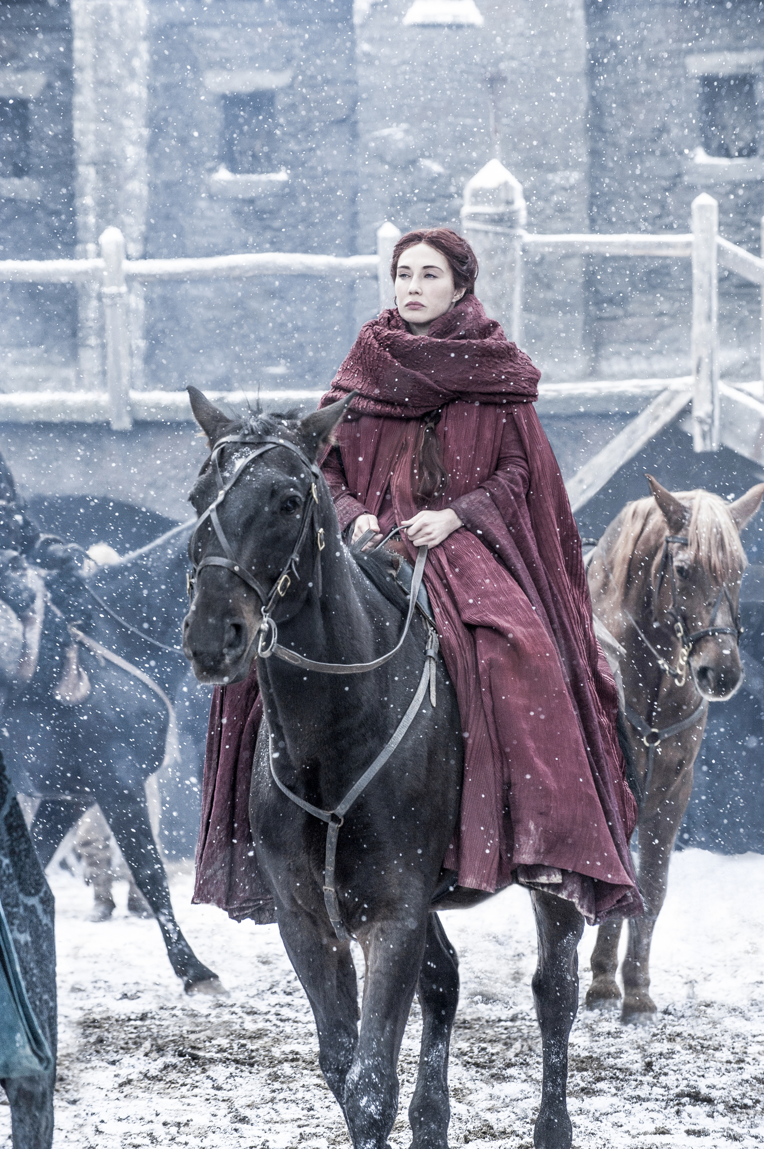 game of thrones season 6 photos, melisandre, carice van houten