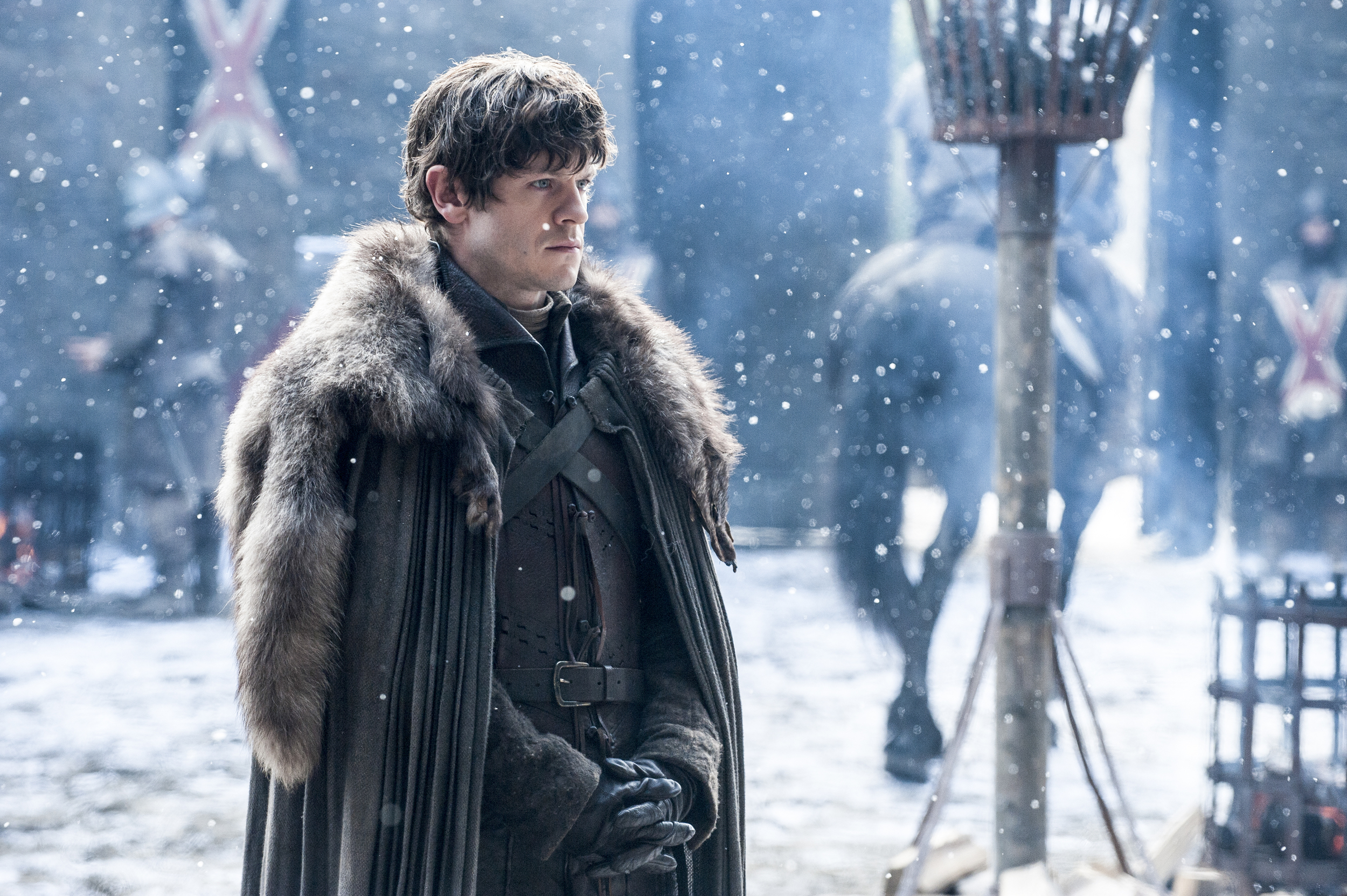 game of thrones season 6 photos, ramsay bolton, iwan rheon