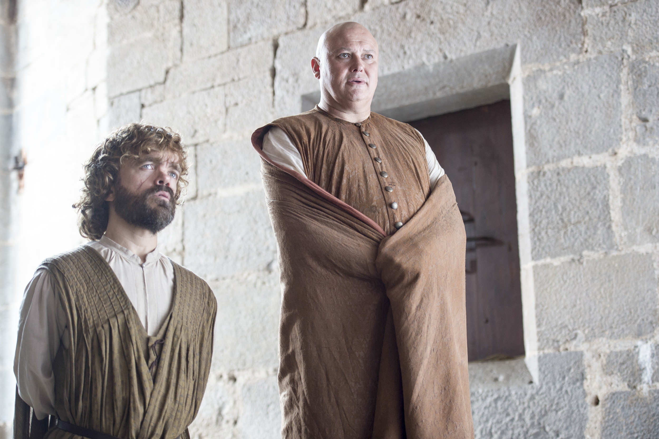 game of thrones season 6 photos, tyrion lannister, lord varys
