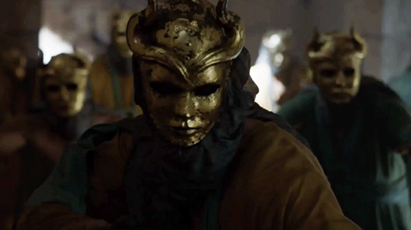 sons of harpy, game of thrones, god masks
